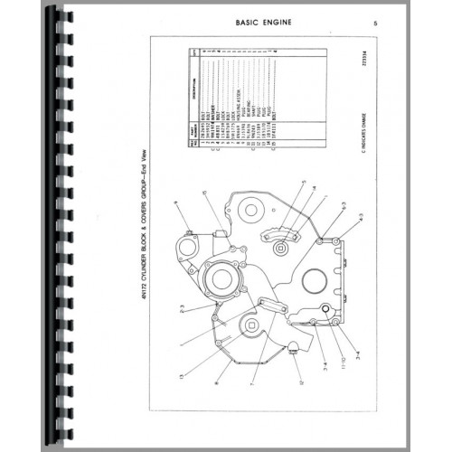 Caterpillar D3 Crawler Parts Manual (SN# 79U4709 and Up)