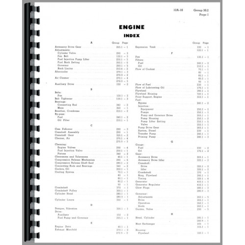 Caterpillar D343 Engine Service Manual (SN# 33B1 and Up