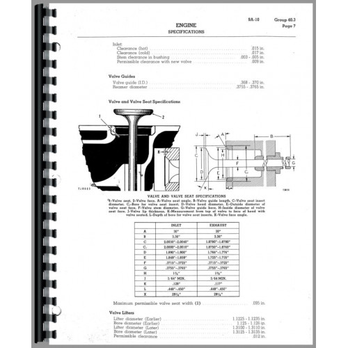 Caterpillar D4C Crawler Service Manual (SN# 24A1 and Up
