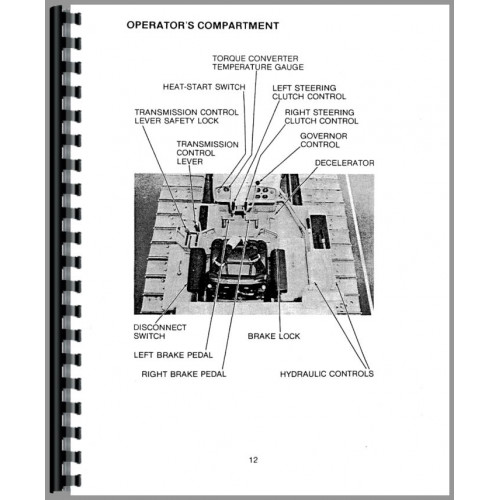 Caterpillar D4D Crawler Operators Manual (SN# 7R1, 22C1