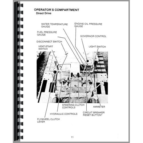 Caterpillar D5 Crawler Operators Manual (SN# 6R1 and Up
