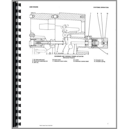 Caterpillar D5B Crawler Service Manual (SN# 8MB1 and Up