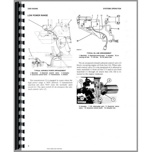 Caterpillar D5B Crawler Service Manual (SN# 8MB1 and Up