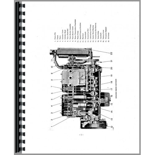 Caterpillar D6 Crawler Service Manual (SN# 4R1 and Up, SN
