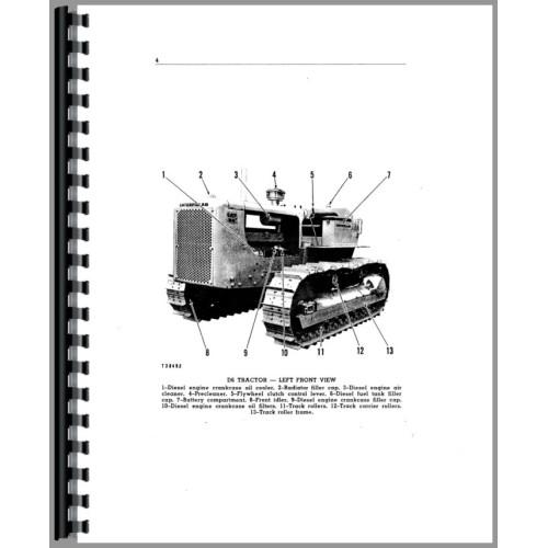 Caterpillar D6B Crawler Operators Manual (SN# 37A1 and Up