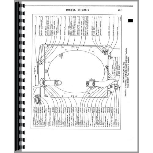 Caterpillar D6B Crawler Parts Manual (SN# 37A1 and Up) (37A1+)