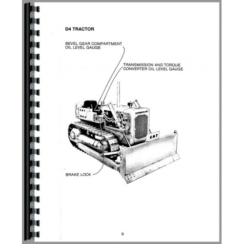 Caterpillar D6C Crawler Operators Manual (SN# 10K, 24U