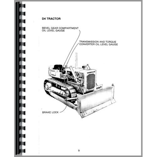Caterpillar D6C Crawler Operators Manual (SN# 10K, 24U