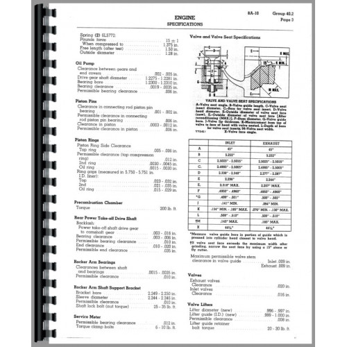 Caterpillar D8H Crawler Service Manual (SN# 36A4469
