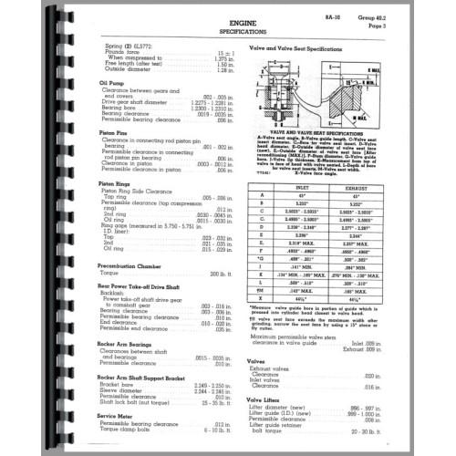 Caterpillar D8H Crawler Service Manual (SN# 36A4469