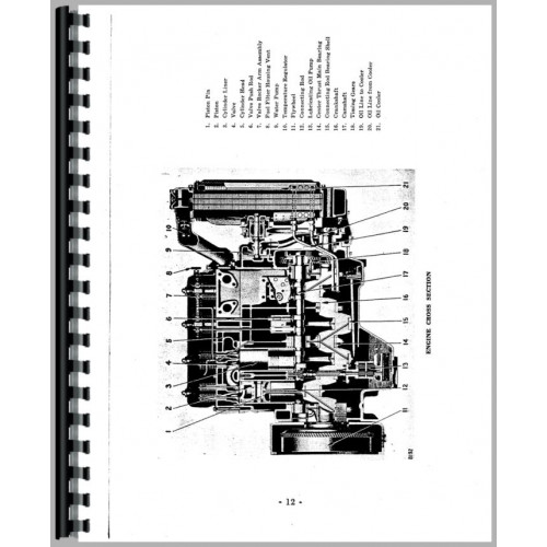 Caterpillar D440 Engine Service Manual (SN# 4H1-4H500, SN