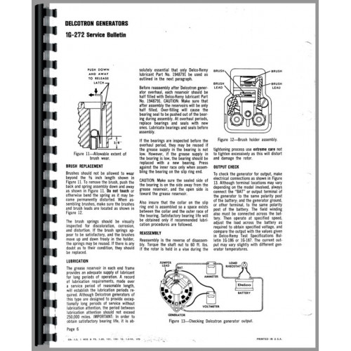 Caterpillar Electrical Testing Service Manual