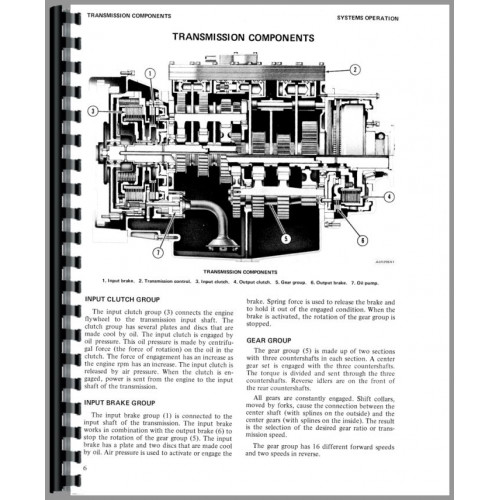Caterpillar 7155 Truck Transmission Service Manual (SN