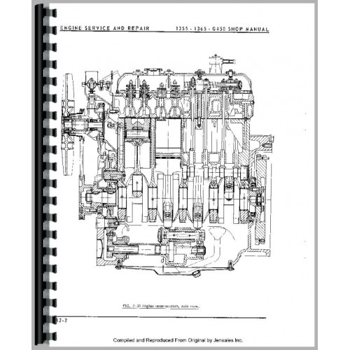 Minneapolis Moline G450 Tractor Service Manual (1971-1975)