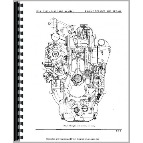 Oliver 1365 Tractor Service Manual (1971-1975)
