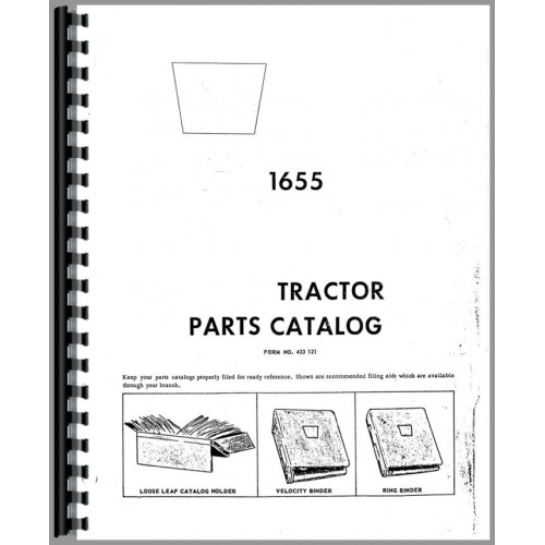 Cockshutt 1655 Tractor Parts Manual