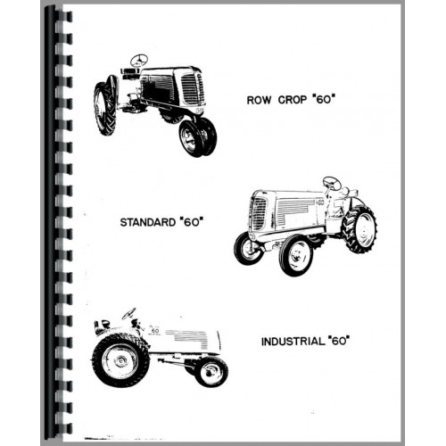 Oliver 60 Tractor Parts Manual