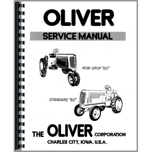 Oliver 60 Tractor Service Manual