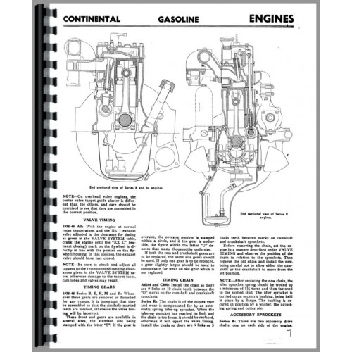 Continental Engines M6253 Engine Service Manual