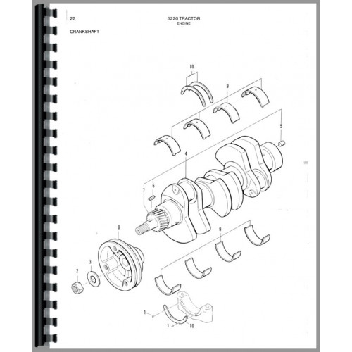 Deutz (Allis) 5220 Tractor Parts Manual