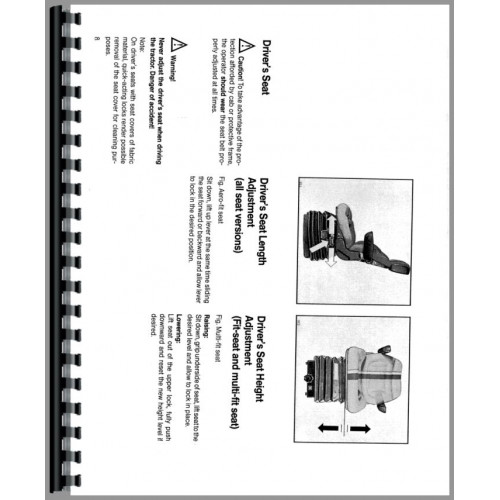 Deutz (Allis) 7085 Tractor Operators Manual