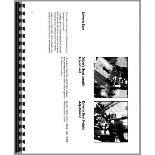 Deutz (Allis) D6007 Tractor Operators Manual