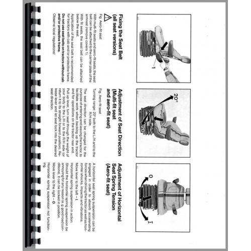 Deutz (Allis) DX6.50 Tractor Operators Manual
