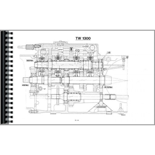 Deutz Allis TW1300 and TW1310 Transmission Service Manual