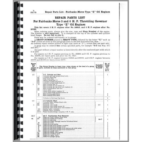 Fairbanks Morse Z Engine Manual
