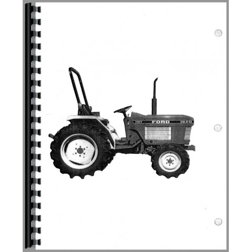 New Holland 1620 Tractor Operators Manual