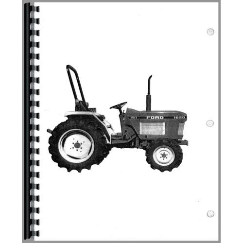 New Holland 1620 Tractor Operators Manual