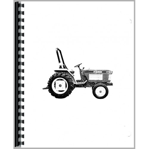 Ford 1720 Tractor Operators Manual