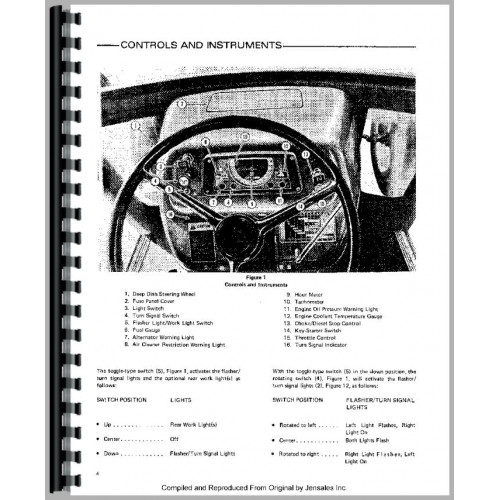 Ford 4600 Tractor Operators Manual (1975-1981)