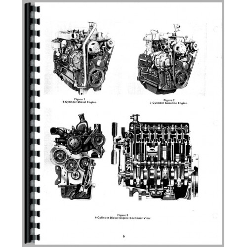 Ford 3000 Engine Service Manual (1965-1975)