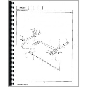 Ford 2000 Tractor Parts Manual (19621964)