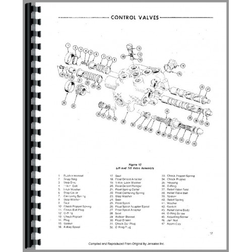 Ford CL20 Skid Steer Service Manual (Chassis)