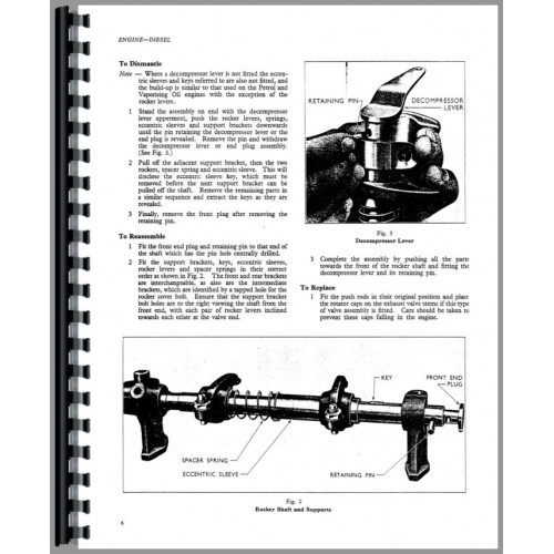 Ford New Major Tractor Service Manual (1953-1958)