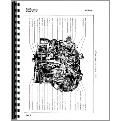Ford Super Major Tractor Service Manual (1961-1964)