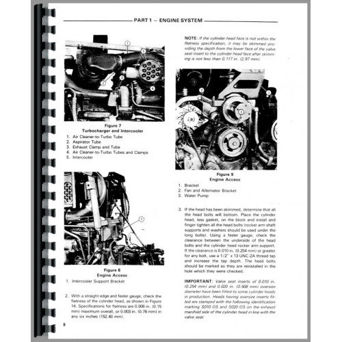 Ford TW 20 Tractor Service Manual