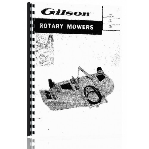 Gilson Gilson Lawn & Garden Tractor Operators & Parts