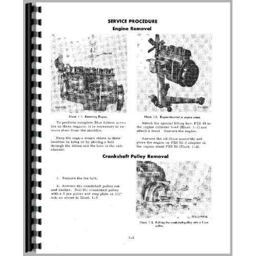 International Harvester 3616 Industrial Tractor Engine