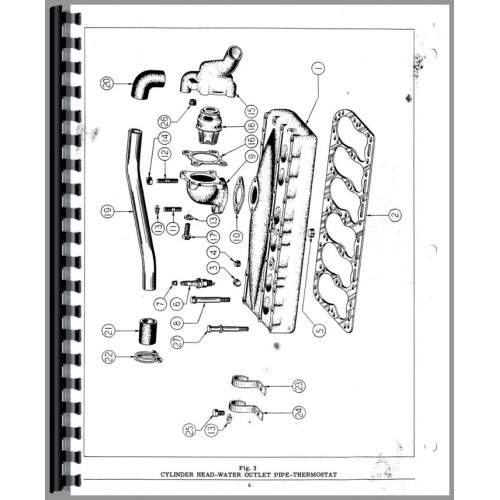 Hercules Engines JXD Engine Parts Manual (6 Cyl)
