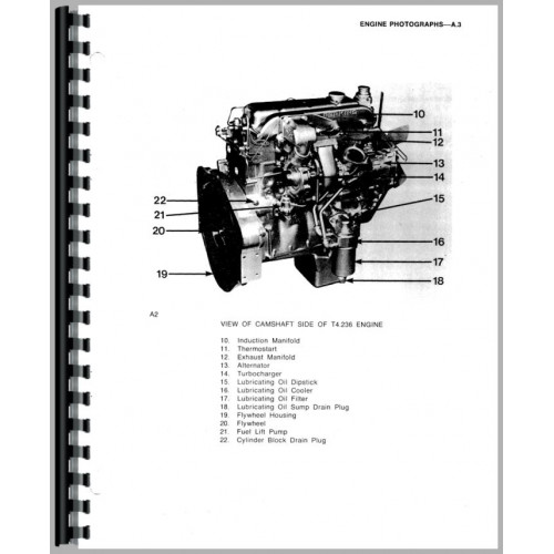 Massey Ferguson 393 Engine Service Manual