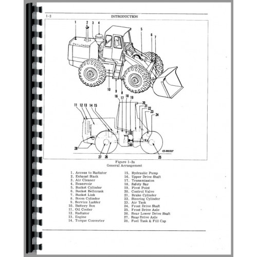Hough H-65C Pay Loader Operators Manual