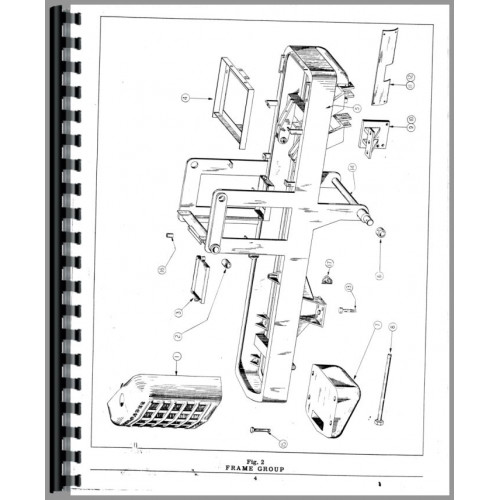 Hough HF Pay Loader Parts Manual (SN# 80001 to 85601)