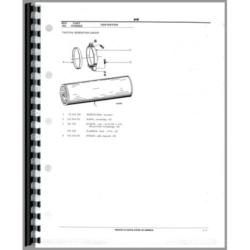 Hough T-300SL Paymover Tug Parts Manual (SN# 876 and Up)