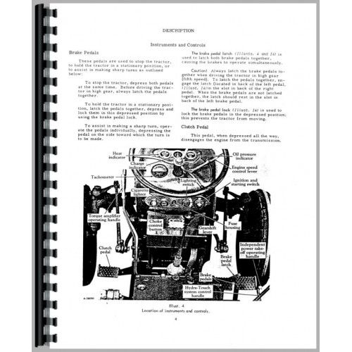 Farmall 300 Tractor Operators Manual (Int Utility)