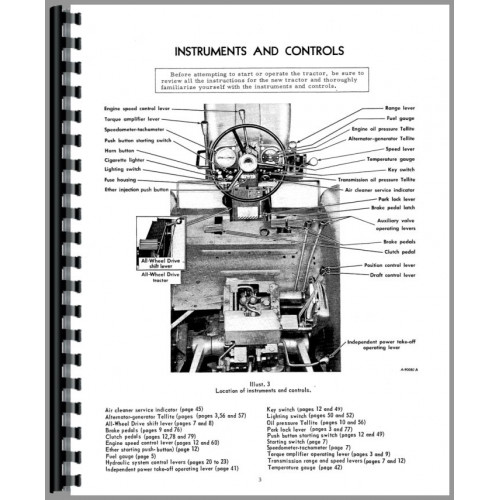 Farmall 1456 Tractor Operators Manual