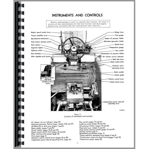 Farmall 1456 Tractor Operators Manual