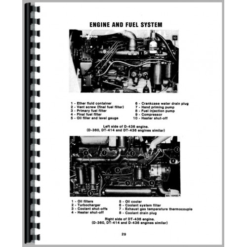 International Harvester 986 Tractor Operators Manual (1976